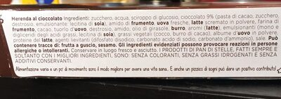 Mulino B. pan Di Stelle Mooncake GR. 210 - Ingredients - fr