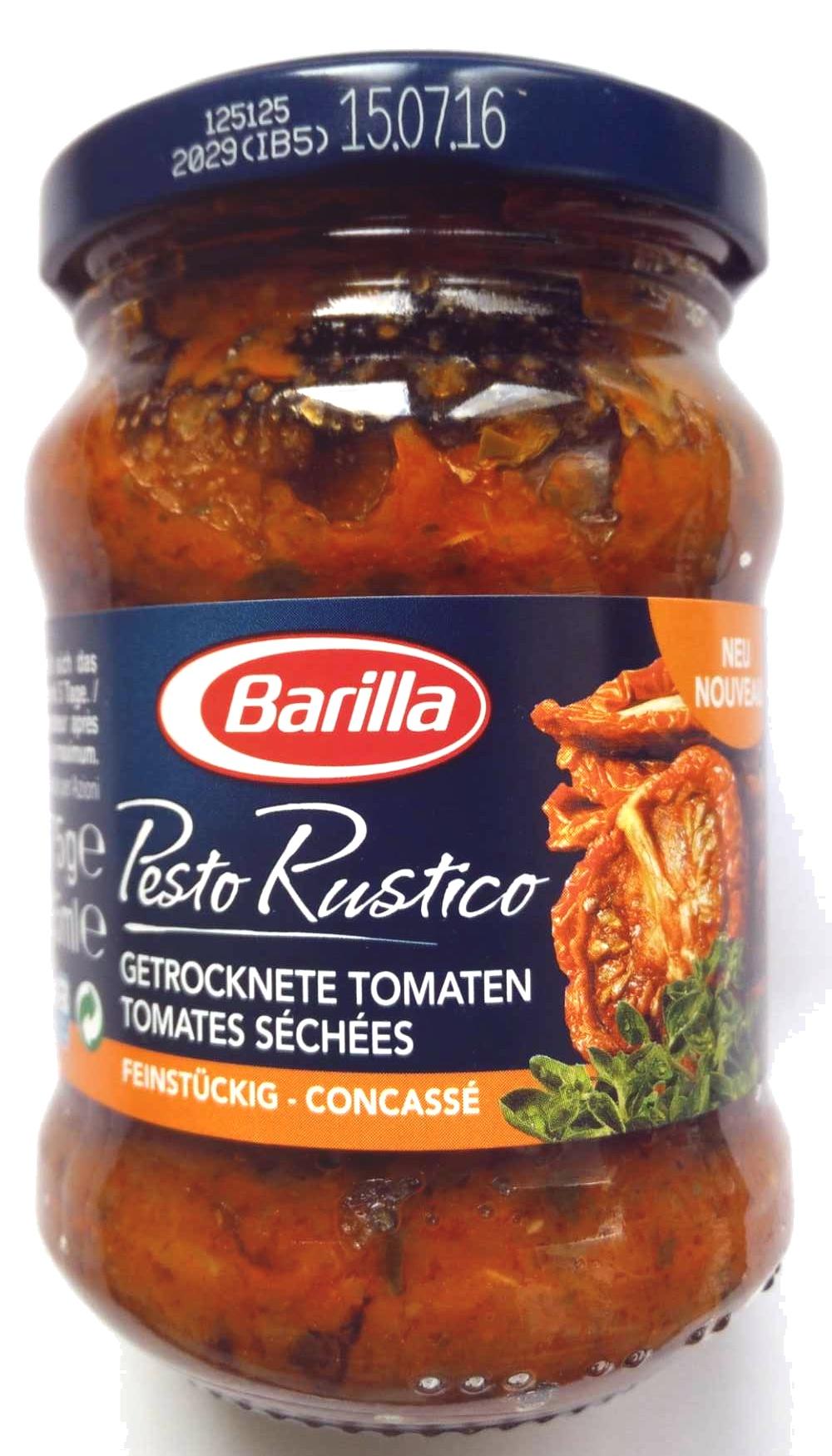 Pesto Rustico Tomates séchées concassé - Product
