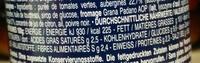 Pesto rustico aubergine 175g int'l - Valori nutrizionali - fr