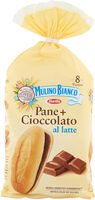 Pane+cioccolato al latte pezzi - Product - it