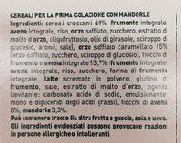 Mulino B. cereali Classici GR. 330 - Ingredients - fr