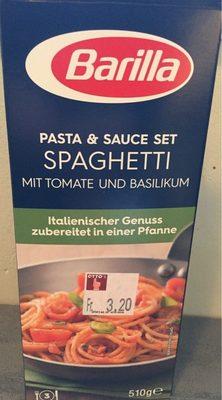 Barilla Koch set FüR Spaghetti Tomate Und Basilikum 510 g - Product