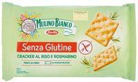 Cracker Riso & Rosmarino - Produit - it