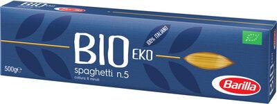 Barilla pates bio spaghetti - Prodotto - fr