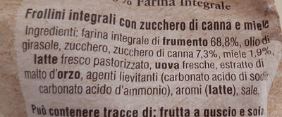 Buongrano Integrale - Ingredienti - it