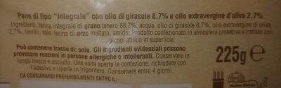 Mulino B. piadella Integrale GR. 225 - Produit - fr
