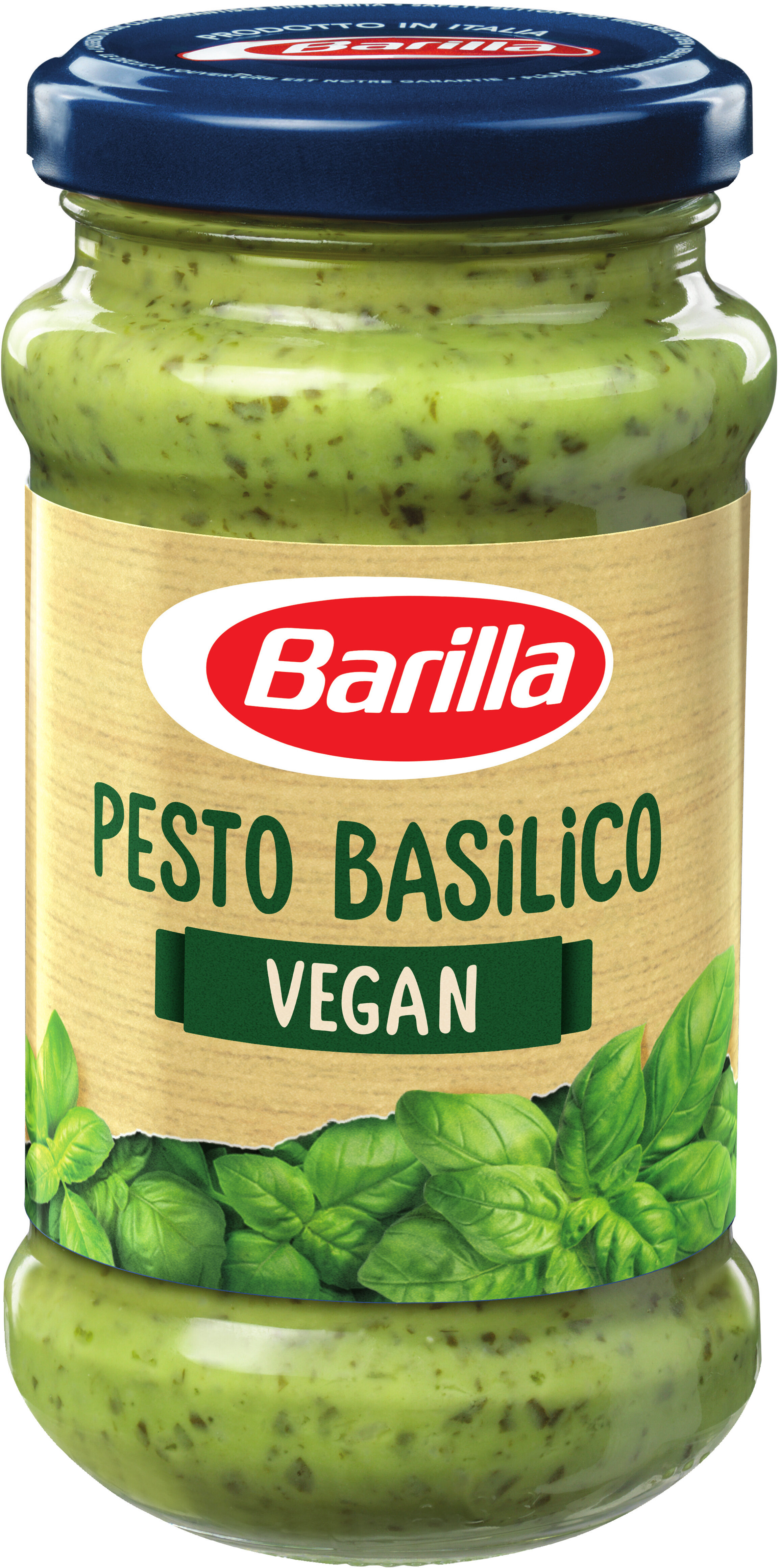 pesto au basilic vegan barilla 195 g. Black Bedroom Furniture Sets. Home Design Ideas