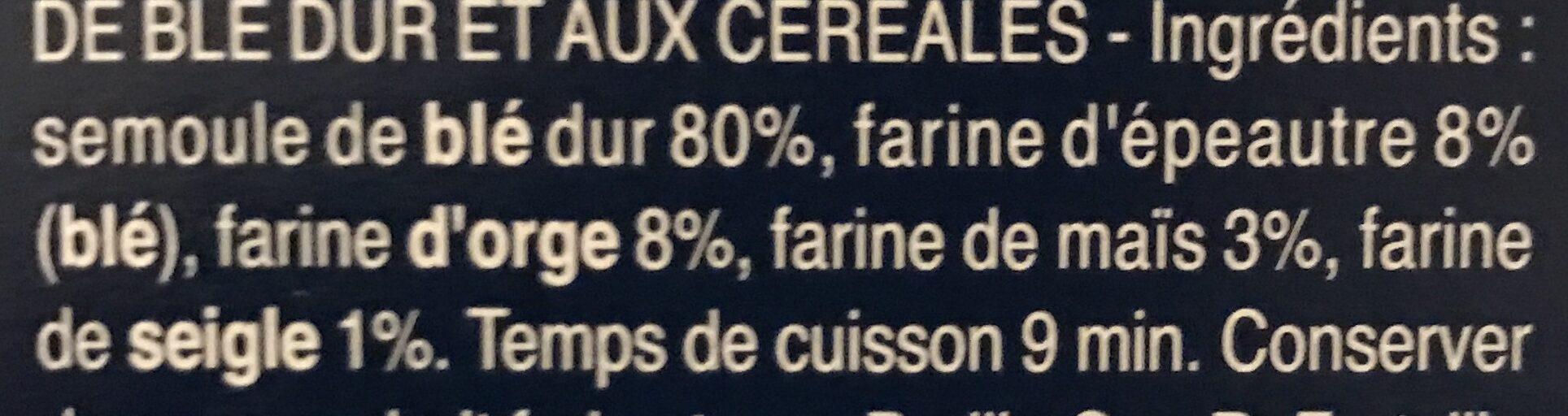 Penne Rigate 5 céréales - Ingredienti - fr