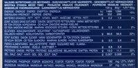 Penne Rigate 5 céréales - Valori nutrizionali - fr