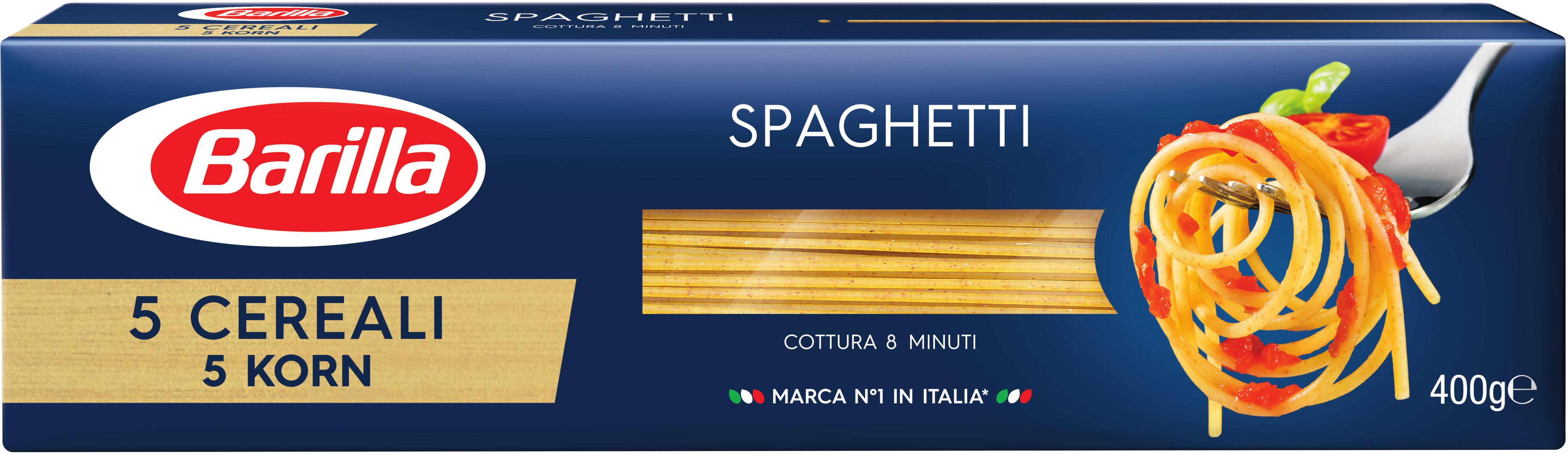 Spaghetti 5 céréales - Produit - fr