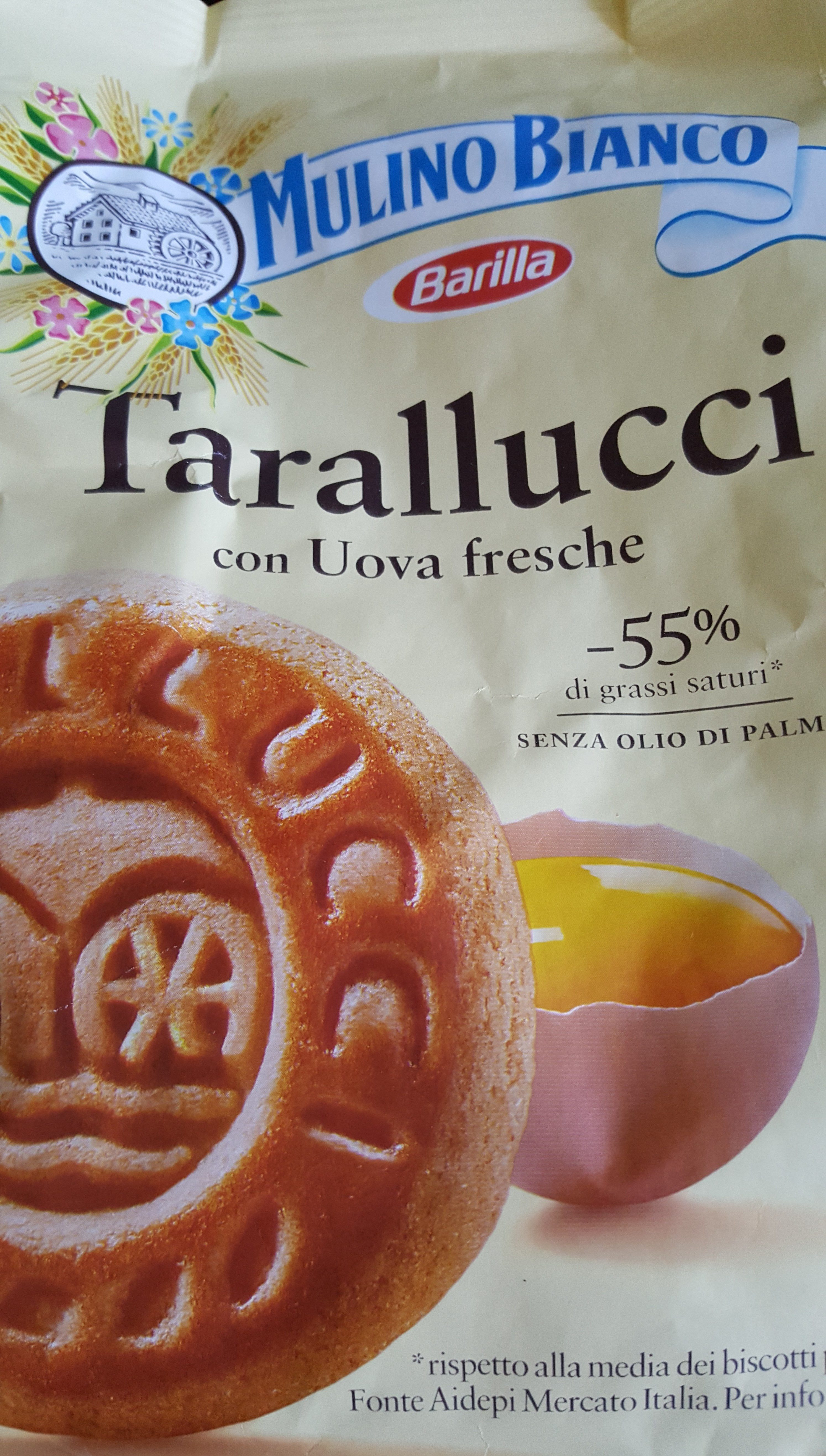 Tarallucci Mulino Bianco - Product - fr