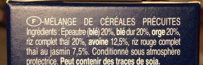 Barilla mélange 5 céréales au riz complet - Ingredienti - fr