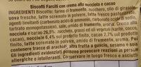 Baiocchi - Ingredients
