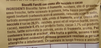Baiocchi - Ingredienti - it