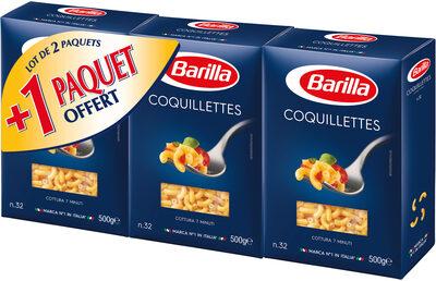 Lot 2 coquillettes + 1 offert - Produit - fr