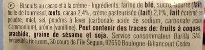Abbracci - Ingredienti - fr