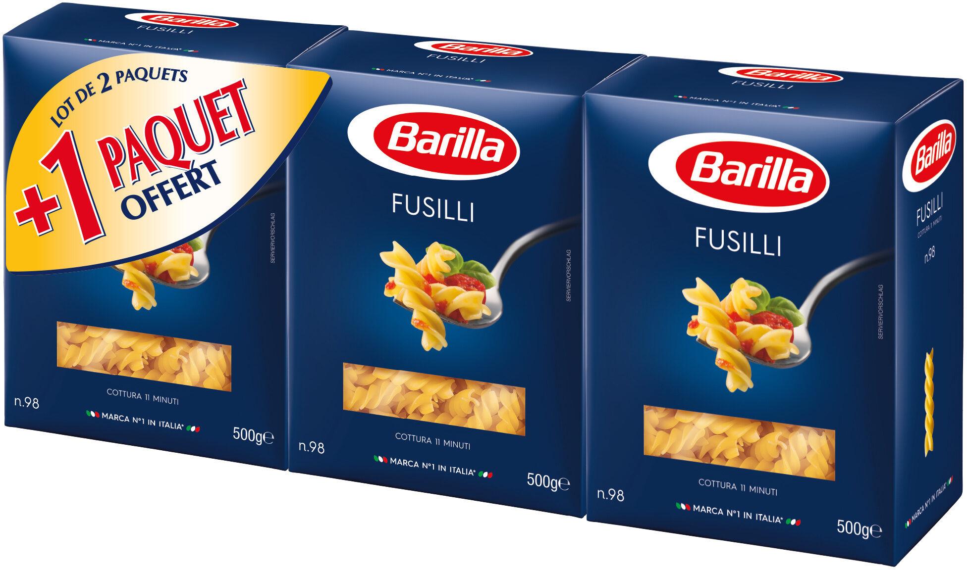 Lot pâtes Fusilli x3 - Product