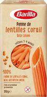 Barilla pâtes penne de lentilles corail - Product - fr