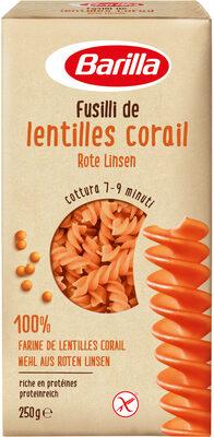 Fusilli de lentilles corail - Product - fr