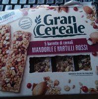 Barrette di cereali mandorle e mirtilli rossi - Product