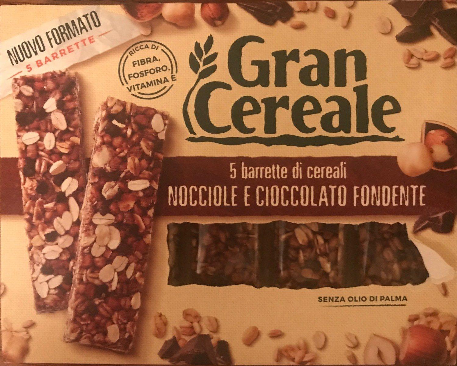 Barre de céréales - noisette et chocolat fondant - Product - it