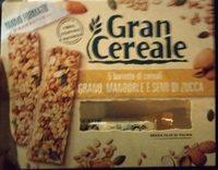 5 barrette di cereali grano, mandorle e semi di zucca - Product - it