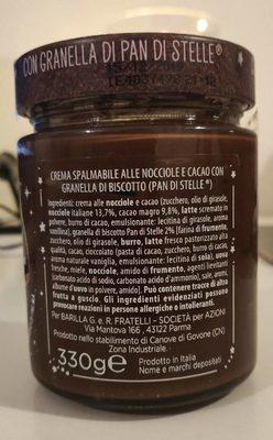 Pan di stelle crema - Ingrédients - fr