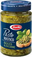 Pesto basilic et courgettes - Product - fr