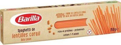 Barilla pâtes spaghetti de lentilles corail - Prodotto - fr
