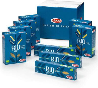 9 packs de pâtes biologiques - Product - fr