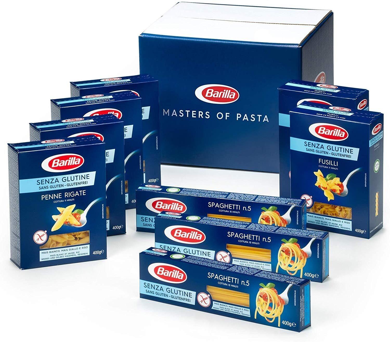 9 packs de pâtes sans gluten - Product - fr