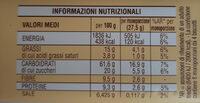 Cecille - Valori nutrizionali - it