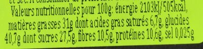 Gran Cereale - Nutrition facts - fr