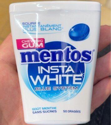 Mentos insta white - Prodotto - fr