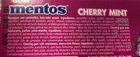 Mentos Gum Blister Breeze Cherry Mint - Ingrediënten - fr