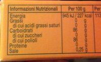 Frutta C - Valori nutrizionali - it