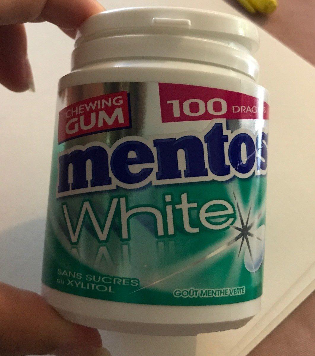Chewing-gum Mentos White Menthe Verte - Prodotto - fr