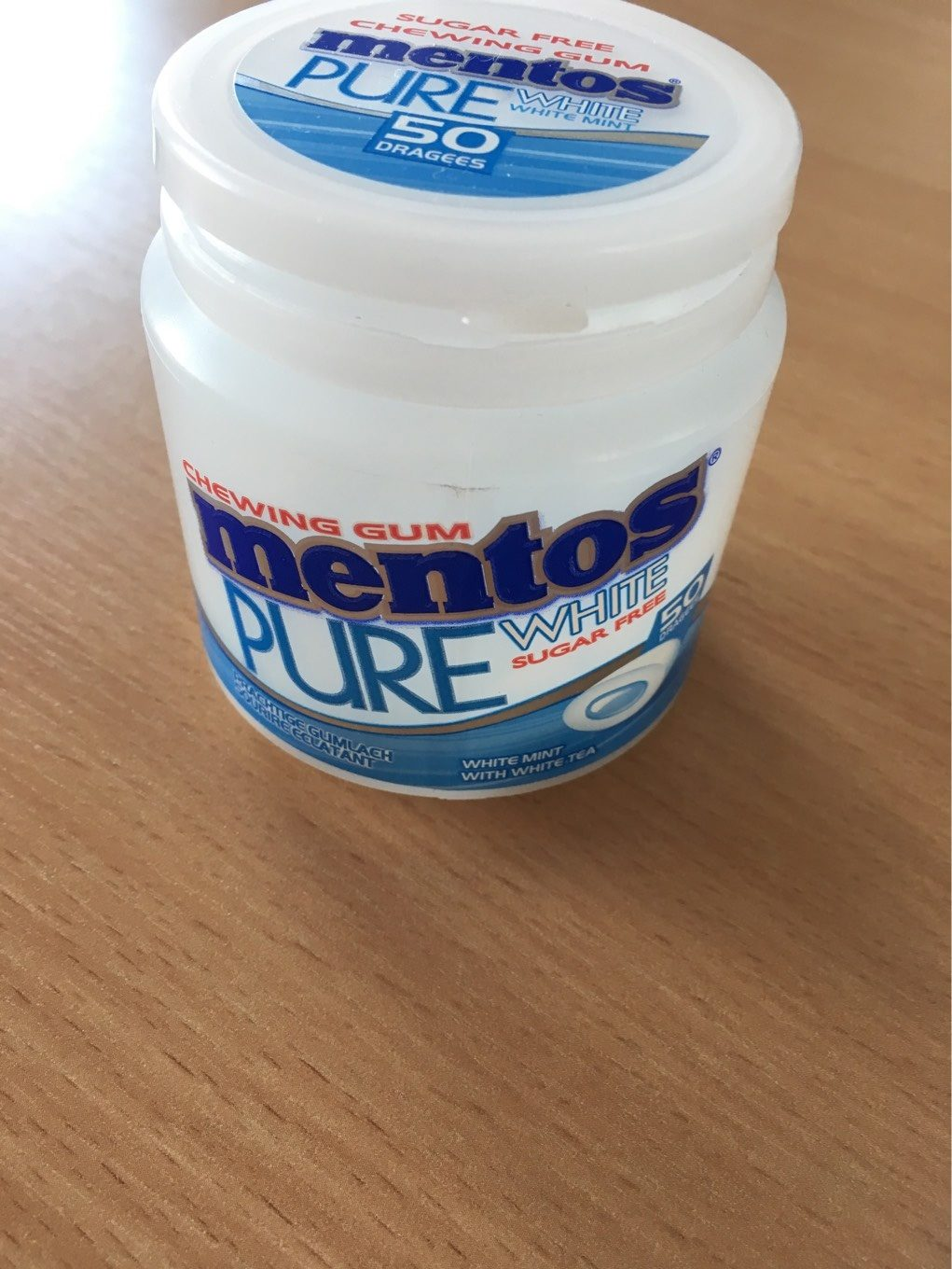 Mentos pure white - Product - fr