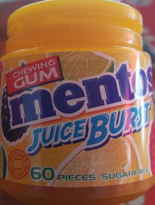 Mentos Juice Burst chewing-gums - Product