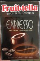 Fruit-tella sans sucres Expresso - Produit - fr