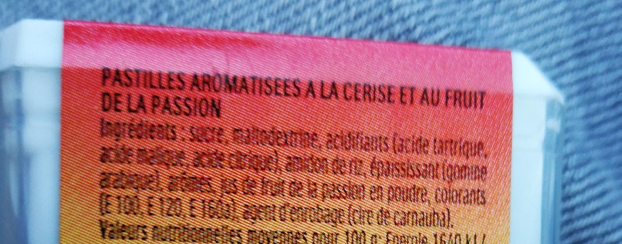 Tic tac etui cerise passion - Ingredienti - fr