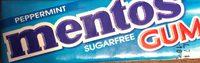 Mentos Peppermint Gum - Produit - fr