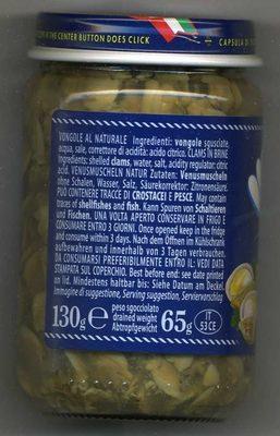 Venusmuscheln Ohne Schalen In Salzlake?le Vongolotte Sgusciate? - Ingredients - fr