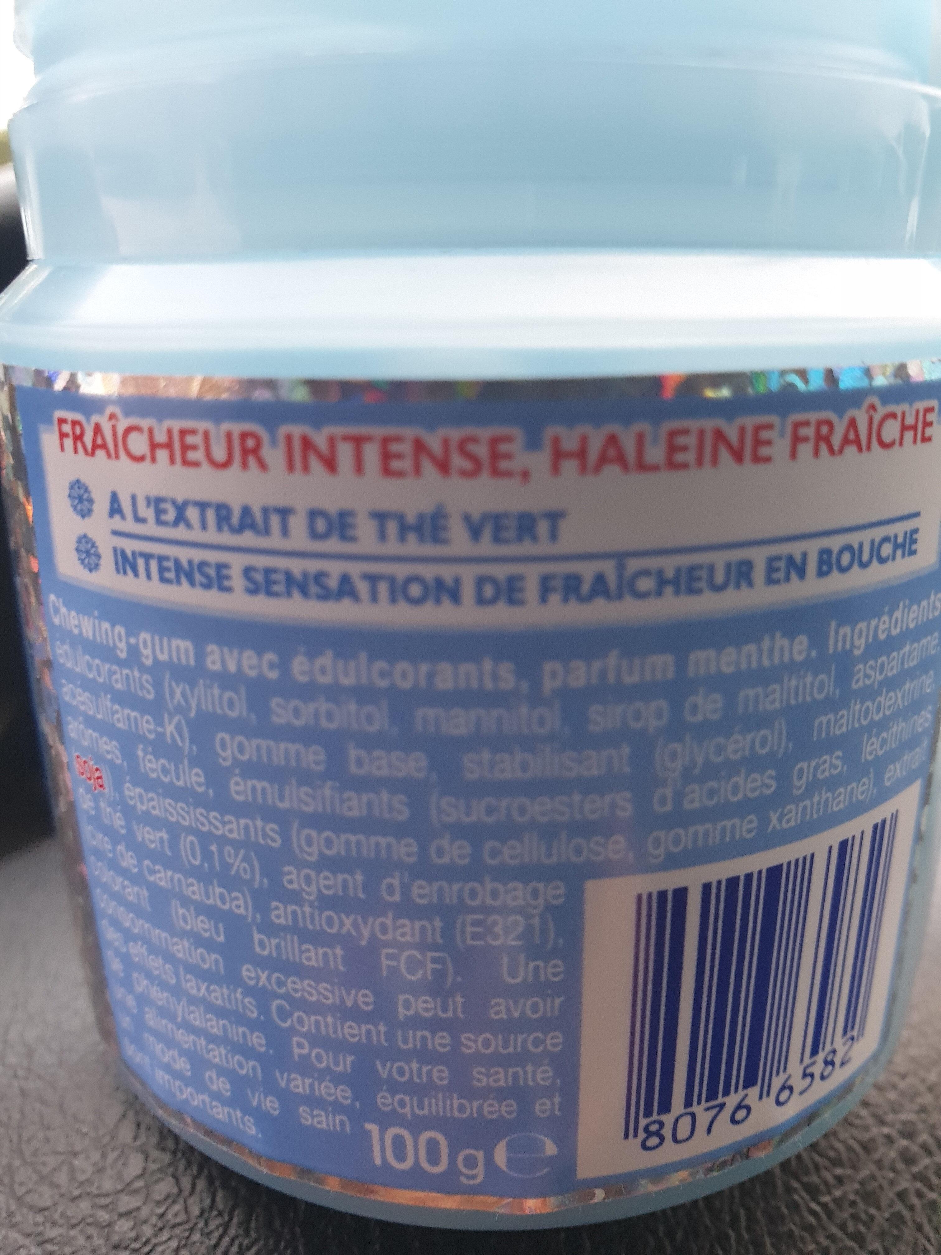 Mentos Pure Fresh - Ingrediënten