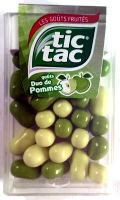 Tic Tac Pommes - Produit