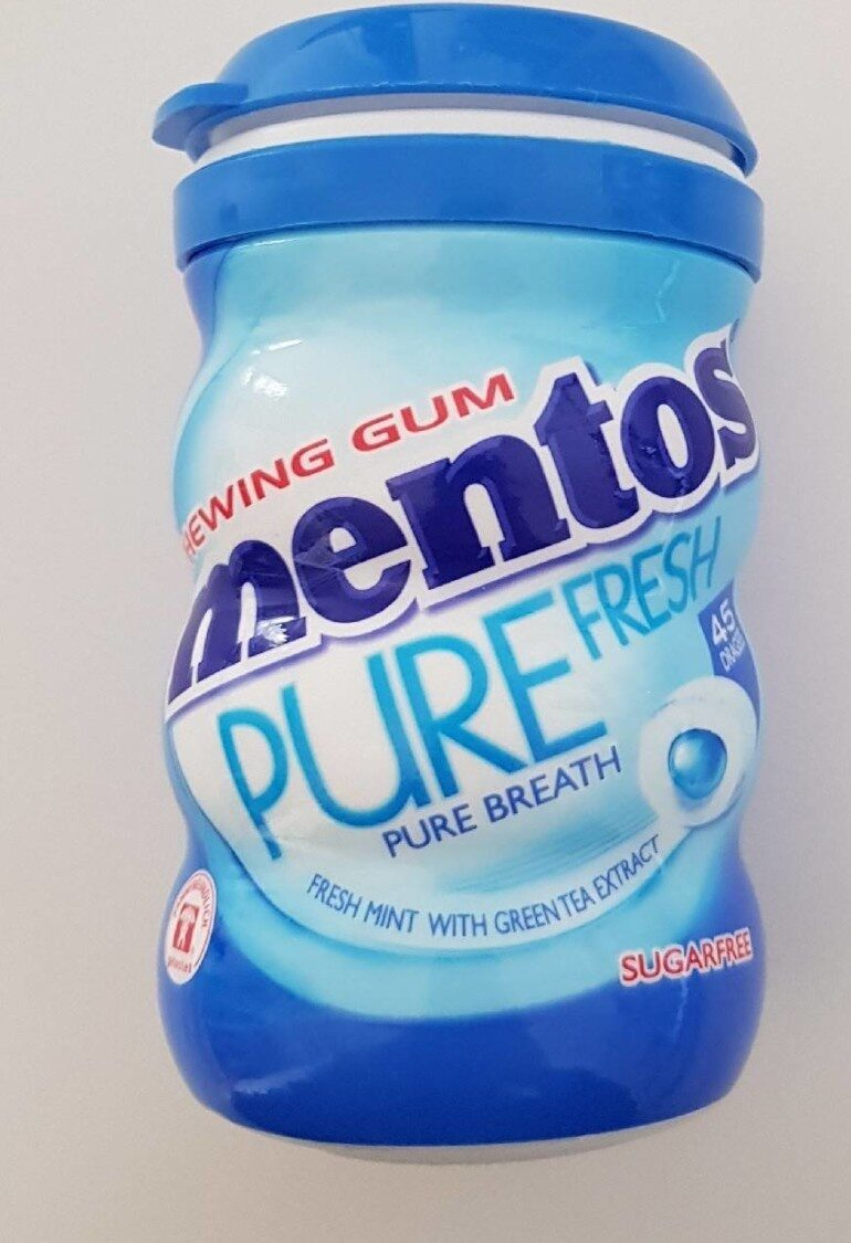 Chewing gum mentos pure fresh - Prodotto - fr