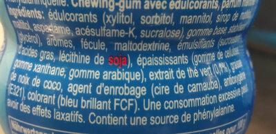 Chewing gum mentos pure fresh - Ingredienti - fr