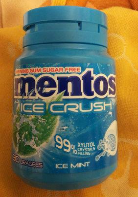 Mentos Gum Bottle Ice Crush Ice Mint X6 - Produit