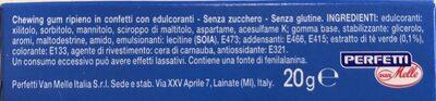 Chewing gum - Ingredients - it