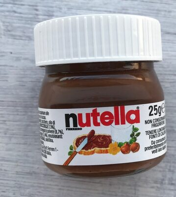 Nutella pate a tartiner noisettes-cacao 1 kg piping bag - Product - fr